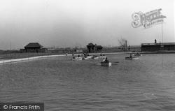 Grays, The Children's Boating Pool c.1955