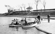 Grays, the Children's Boating Pool c1955