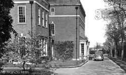Grays, The Drive, Palmers College c.1955