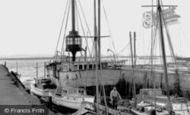 Grays, the Lightship c1955