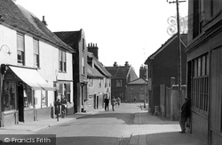 Grays, The Old High Street 1955