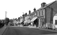 Grays, the Southend Road c1955
