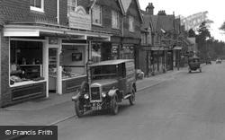 Delivery Van, Headley Road 1930, Grayshott