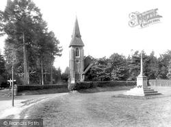St Luke's Church And The War Memorial 1928, Grayshott