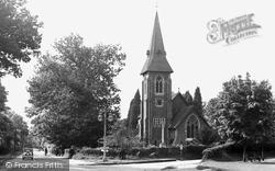 St Luke's Church c.1955, Grayshott