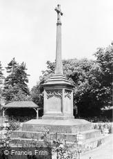 Grayshott, War Memorial c1960