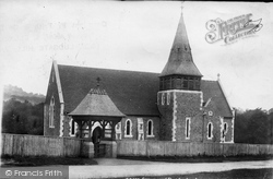 Grayswood, All Saints Church And Lychgate 1902