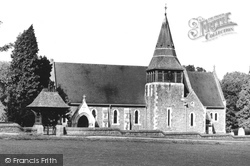 Grayswood, All Saints Church c.1955