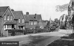 Grayswood Road c.1955, Grayswood