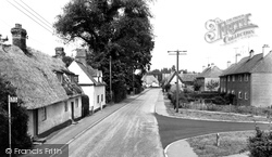 High Street c.1955, Great Abington