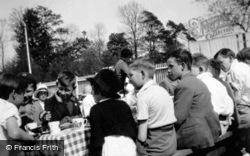 Children At Tea, Jubilee Celebrations 1935, Great Amwell