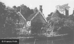 Church Tower And River c.1960, Great Amwell