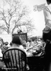 Jubilee Celebrations, Children At Tea 1935, Great Amwell