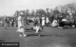 Jubilee Celebrations, The Wheelbarrow Race 1935, Great Amwell