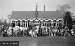 Jubilee Decorations At Amwell Sports Club 1935, Great Amwell