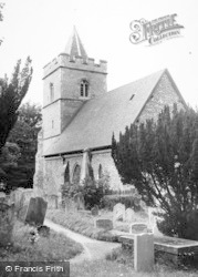 The Church Of St John The Baptist c.1955, Great Amwell