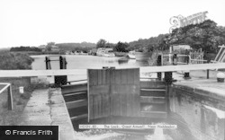 Great Amwell, The Lock c.1965
