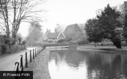 Great Amwell, The New River c.1960