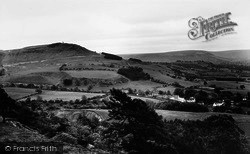 Great Ayton, View Towards Captain Cook's Monument c.1965