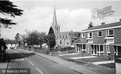 Great Baddow, St Mary's And St Paul's Church c.1965