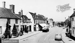 Great Bardfield, High Street c.1965