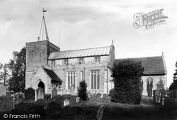 Great Bardfield, The Parish Church Of St Mary The Virgin 1903