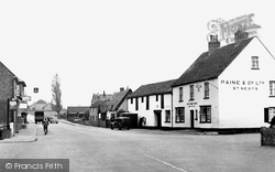 The Cross c.1955, Great Barford