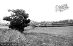 Great Bedwyn, Castle Road c.1955