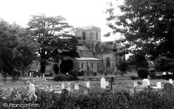 Great Bedwyn, Church Of St Mary c.1955
