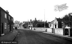 Great Bedwyn, Church Street And School c.1955