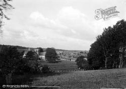 Great Bedwyn, General View c.1955