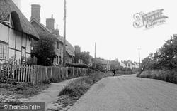 Great Bedwyn, Lower End c.1955