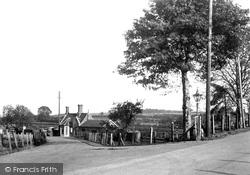 Great Bedwyn, Station Approach c.1955