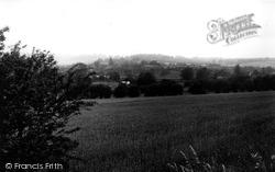 Great Bedwyn, View From Galley Lane c.1955