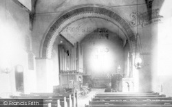 Church Interior 1900, Great Bentley