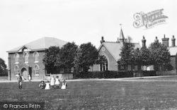Green, Chapel And Schools 1895, Great Bentley