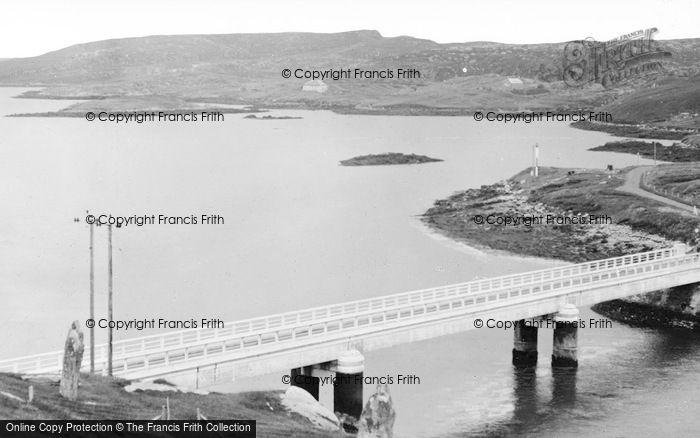 Photo of Great Bernera, Bernera Bridge c.1955