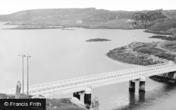 Great Bernera, Bernera Bridge c.1955