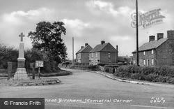 Memorial Corner c.1955, Great Bircham