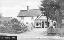 The Village Stores c.1955, Great Bircham