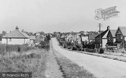 Great Bookham, Dawnay Road c.1955