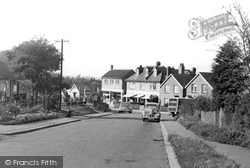 Great Bookham, Downsway c.1955