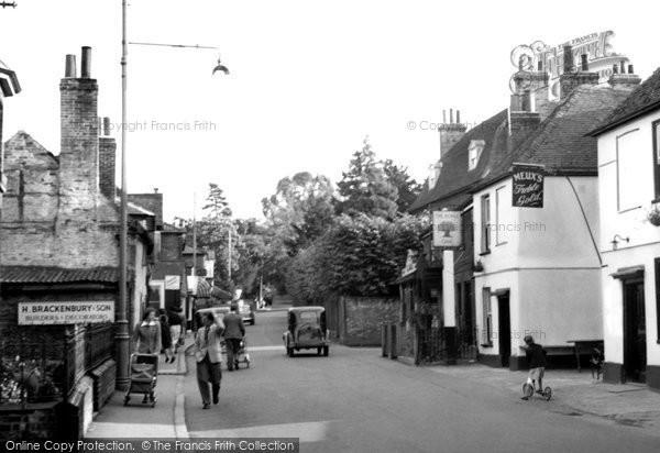 Great Bookham, High Street c1955