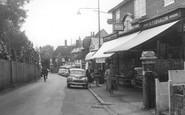 Great Bookham, High Street c1960