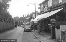 Great Bookham, High Street c.1960