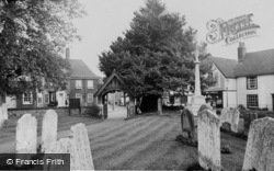 Great Bookham, Lychgate And Memorial c.1955