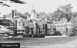Great Bookham, Main Entrance, Polesden Lacey c.1955