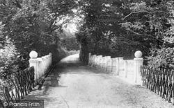 Great Bookham, Polesden Lacey Bridge 1906