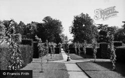 Great Bookham, Polesden Lacey, The Gardens c.1955