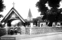 Great Bookham, St Nicolas Church 1904